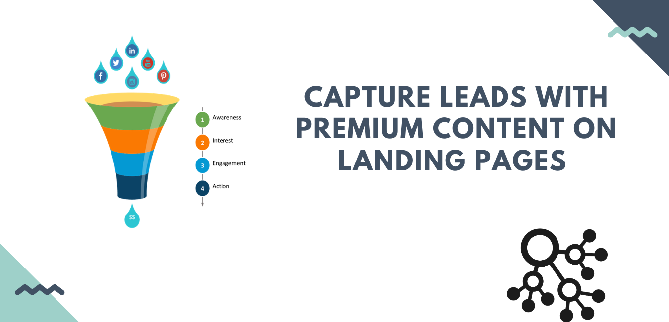 Funnel for landing pages to get quality leads