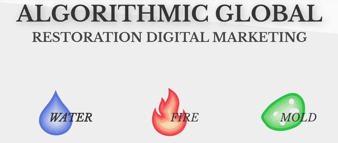 Algorithmic Global can make a restoration digital marketing strategy tailored for your business
