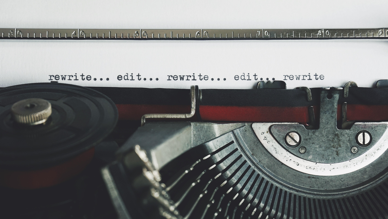 blog post editing and rewriting