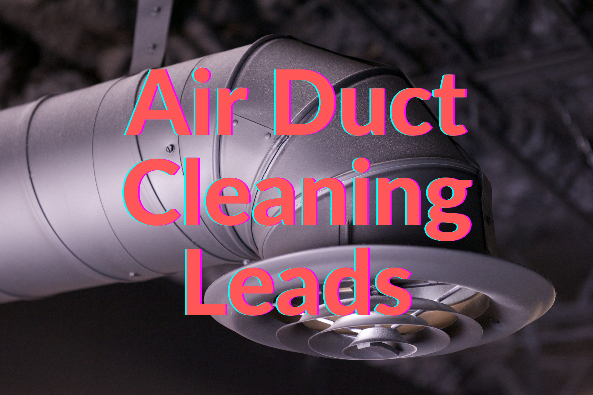 Air duct cleaning leads