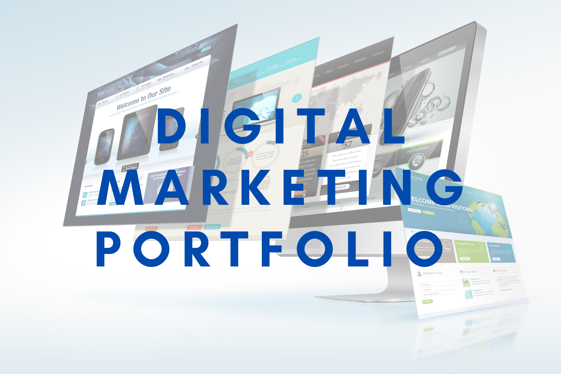 Digital marketing portfolio