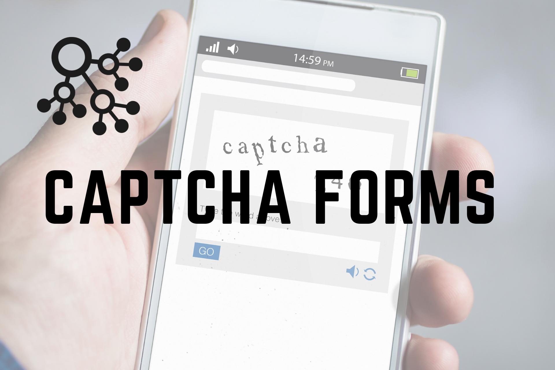 Captcha forms