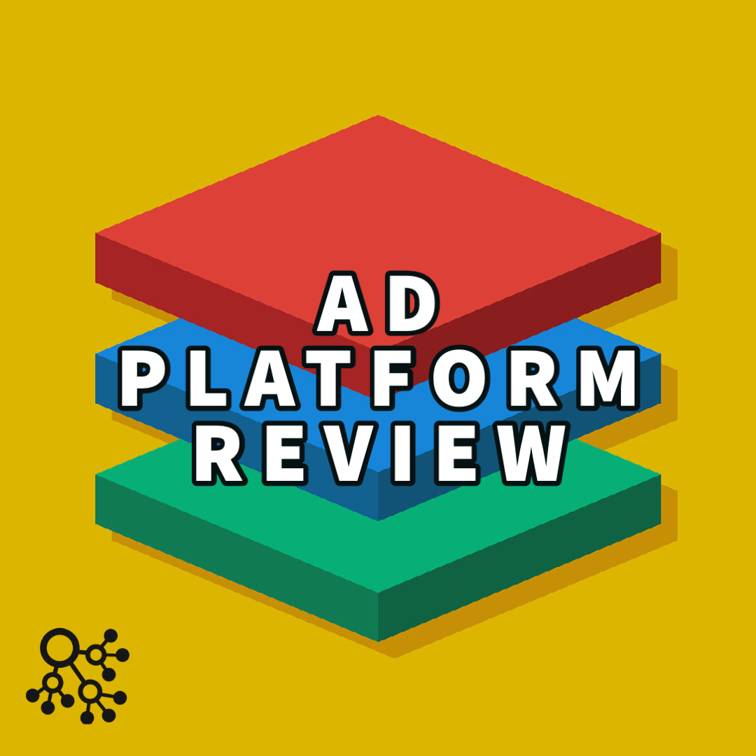 ad platform review written over colored notecards