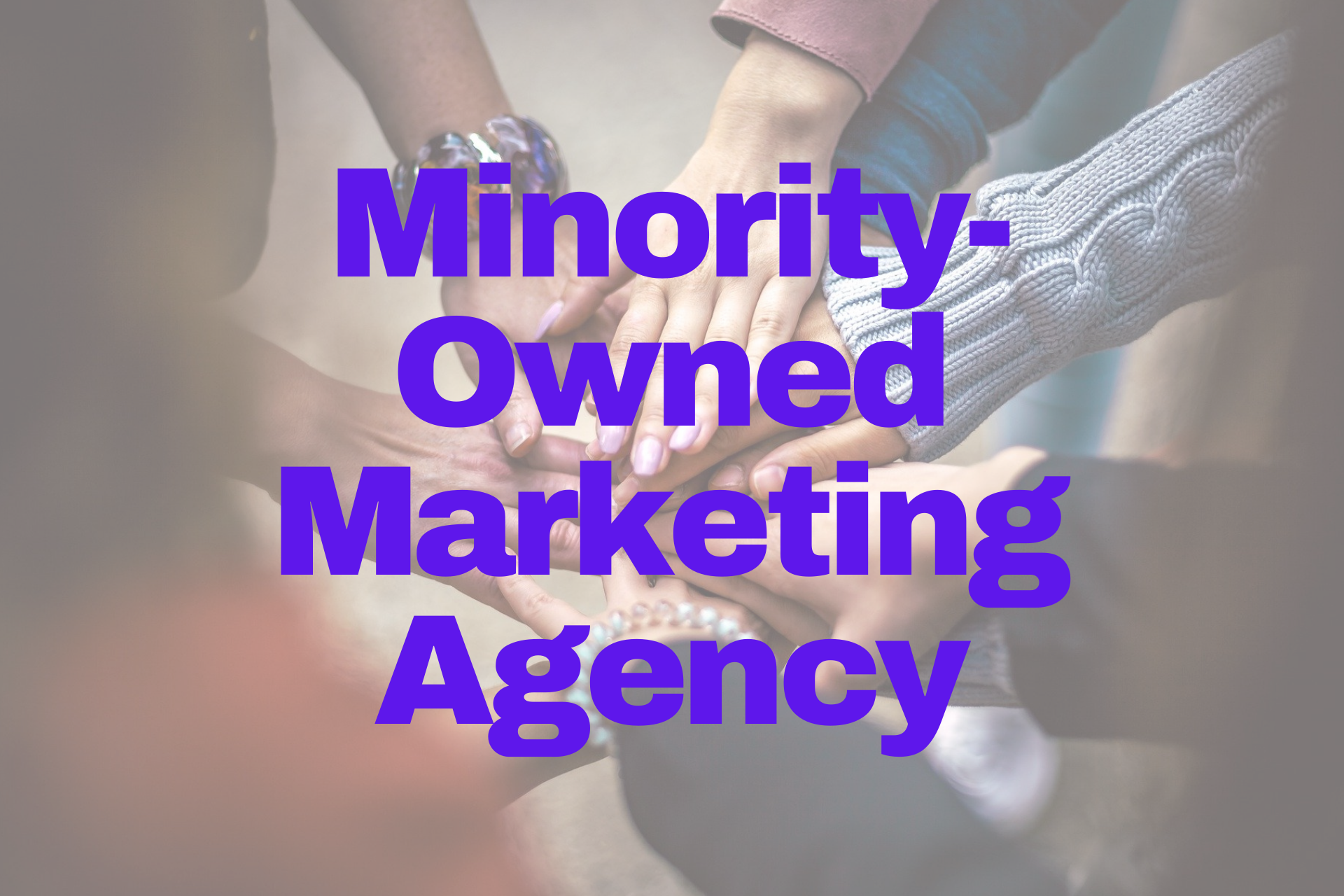 minority-owned marketing agency